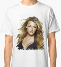 Blake lively oil paint Classic T-Shirt