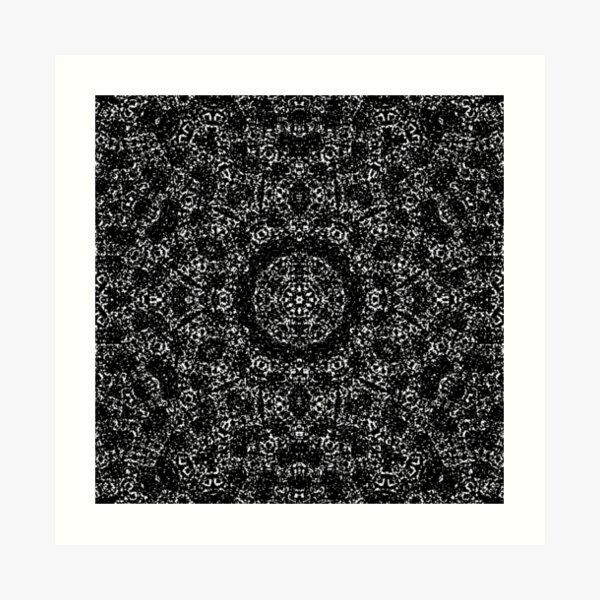 Digital Mandala S14 Art Print