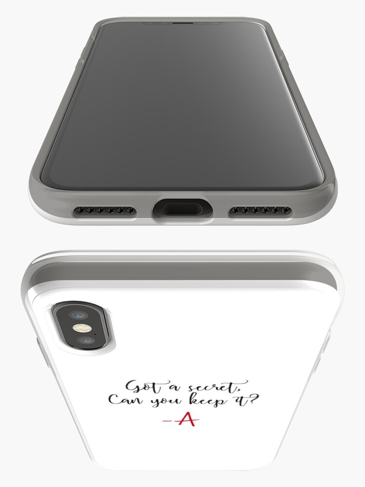 Alternate view of Got a secret, Can you keep it? iPhone Case & Cover