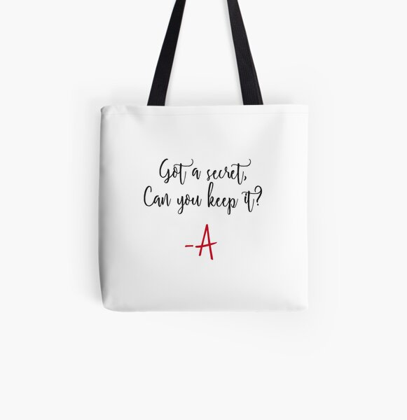 Got a secret, Can you keep it? All Over Print Tote Bag