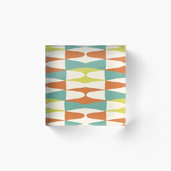 Zaha Lime  Acrylic Block