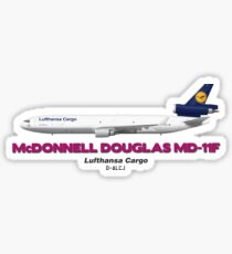McDonnell Douglas MD-11F - Lufthansa Cargo Sticker