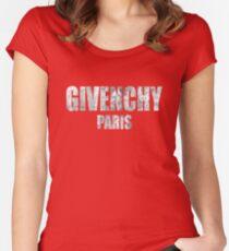 Givenchy Paris - Unisex Black Women's Fitted Scoop T-Shirt