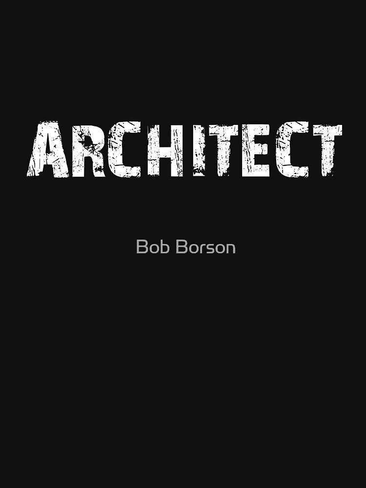 Architect - Scratchy White by bobborson