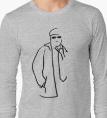 Retro Guy Long Sleeve T-Shirt
