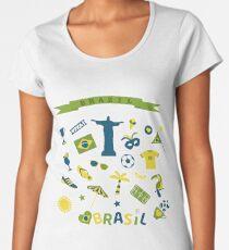 Brazil Women's Premium T-Shirt