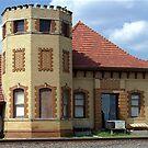 Historic Train Depot Passenger Station II by Glenna Walker
