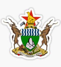 Zimbabwe Coat of Arms Sticker