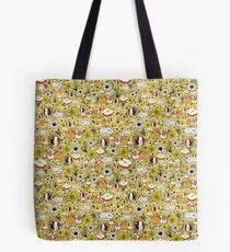 Guinea Pigs in Yellow Tote Bag