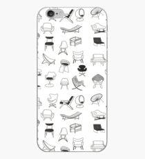 Mid Century Modern Chair Collection iPhone Case