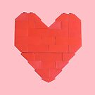 LEGO Valentine - Pink by thereeljames