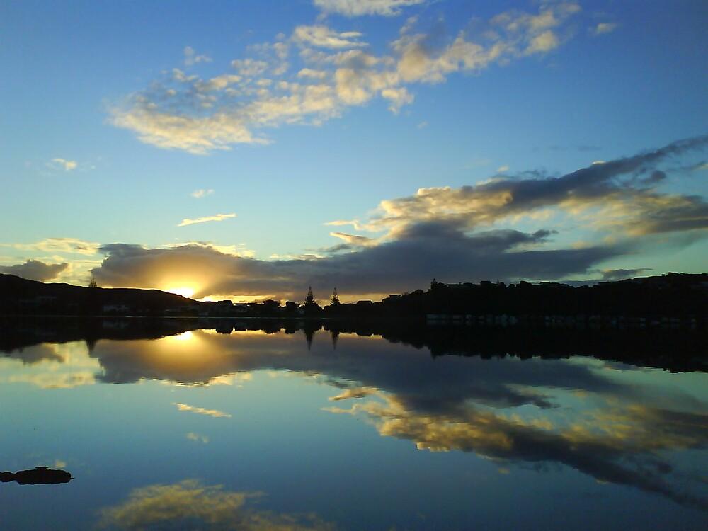 New Zealand Sunset by justineb