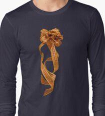 Christmas Ribbon Long Sleeve T-Shirt