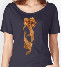Christmas Ribbon Women's Relaxed Fit T-Shirt