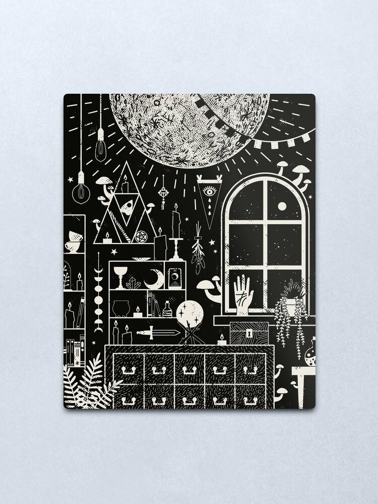 Alternate view of Moon Altar Metal Print