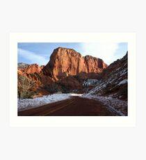 Kolob Canyons Art Print