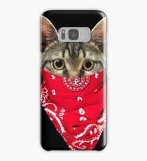 Gangsta Cat - Katze Samsung Galaxy Case/Skin