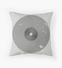 Play Vinyl Throw Pillow