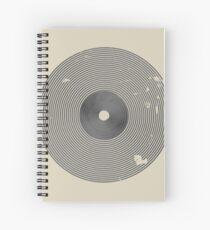 Play Vinyl Spiral Notebook