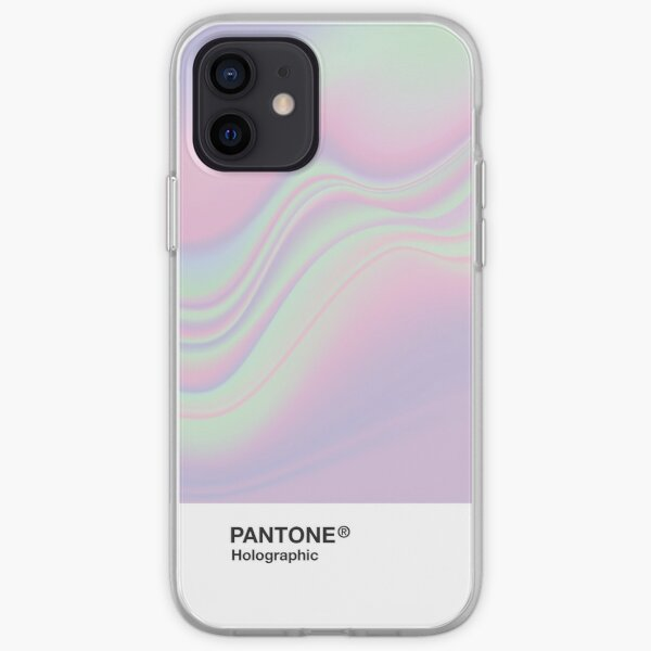 H.I.P.A.B - Holographic Iridescent Pantone Aesthetic Background iPhone Soft Case
