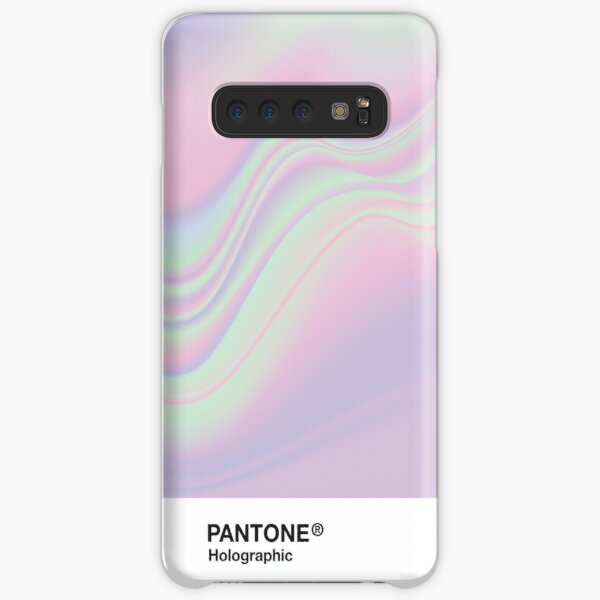 H.I.P.A.B - Holographic Iridescent Pantone Aesthetic Background Samsung Galaxy Snap Case