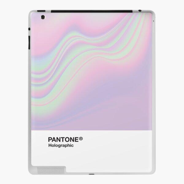 H.I.P.A.B - Holographic Iridescent Pantone Aesthetic Background iPad Skin