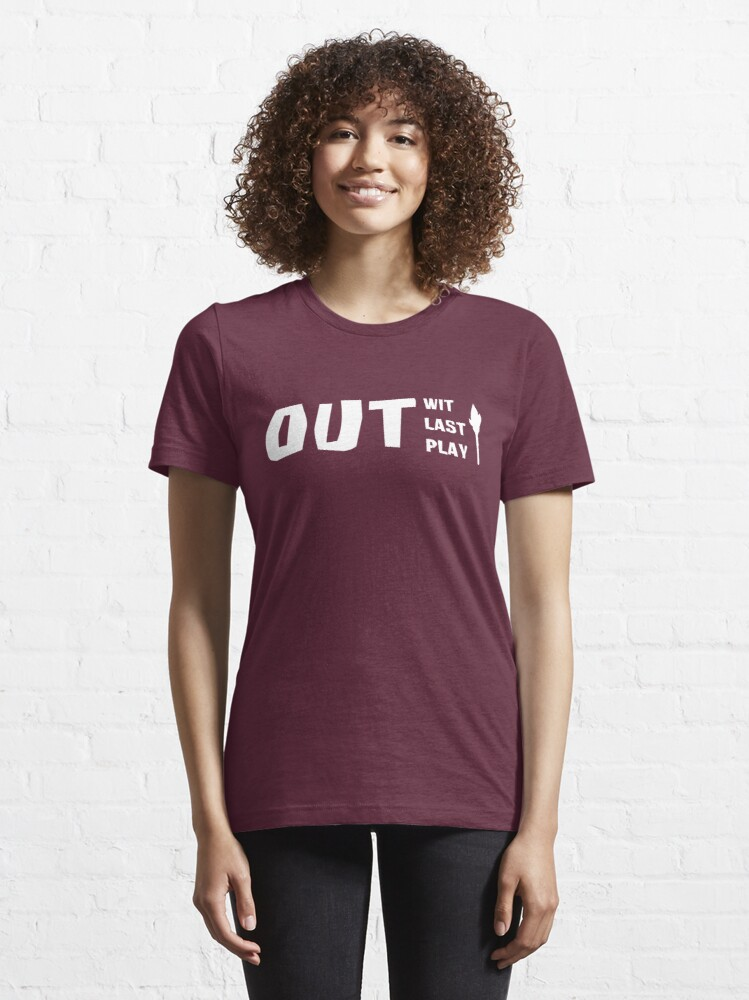 Alternate view of Outwit Outlast Outplay Essential T-Shirt