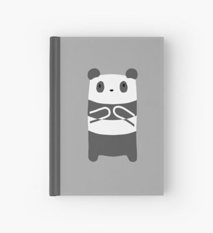 Panda Bear Hardcover Journal