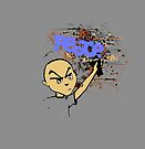 Peace Graffiti - Grunge  by Denis Marsili