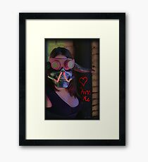 Kiss Me ~ Gimme Some Sugar, Baby Framed Print