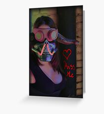 Kiss Me ~ Gimme Some Sugar, Baby Greeting Card