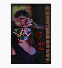 Kiss Me ~ Gimme Some Sugar, Baby Photographic Print
