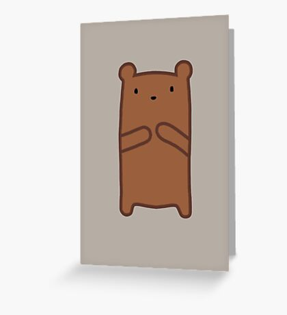 Grizzly Bear Greeting Card