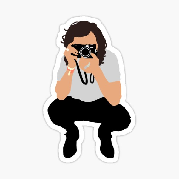 Harry Styles Vector Illustration Photograph Sticker