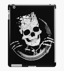 Funny Skull iPad Case/Skin