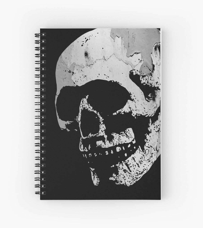 Skull - Cool Grunge Texture Skull by Denis Marsili