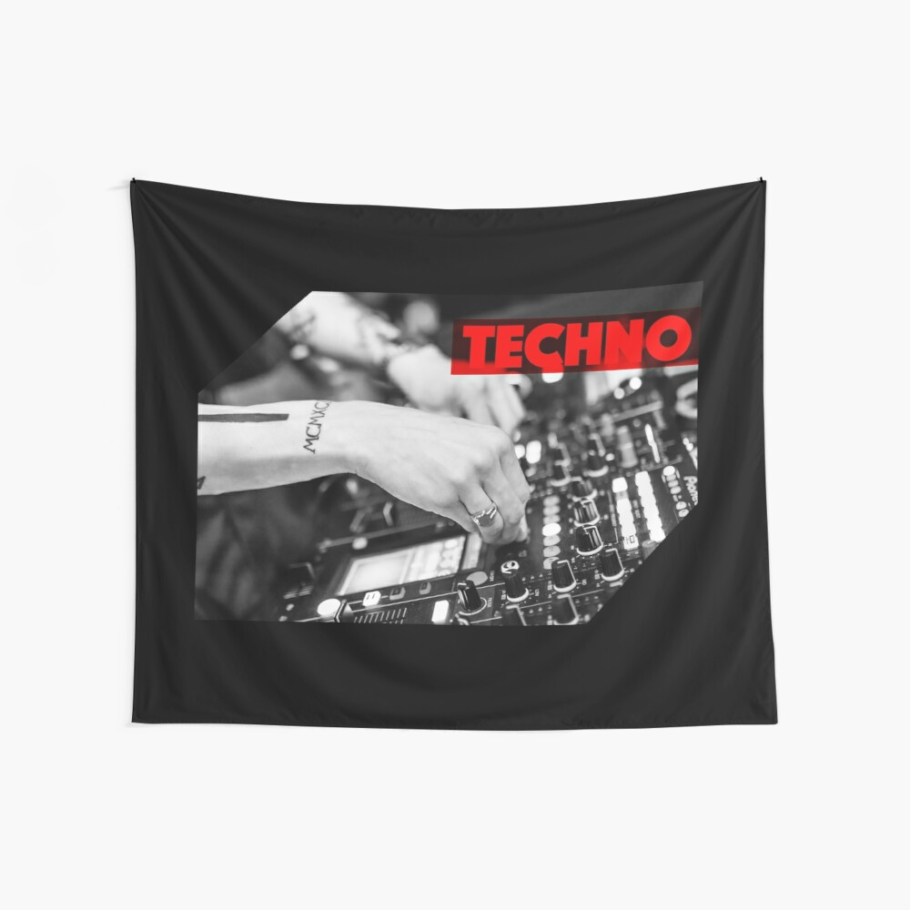 Techno Wall Tapestry