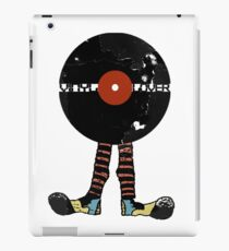 Funny Vinyl Records Lover - Grunge Vinyl Record iPad Case/Skin