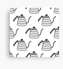 kettle for coffee Canvas Print