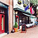 Annapolis MD - Restaurant on State Circle by Susan Savad
