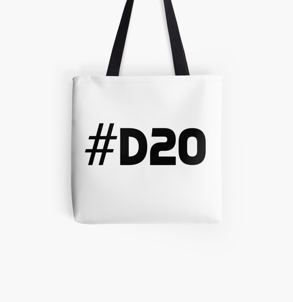 D/&D Bag Dungeon Master tote bag Dungeons and Dragons tote bag