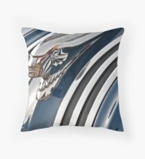 Pontiac Chief Hood Ornament Throw Pillow