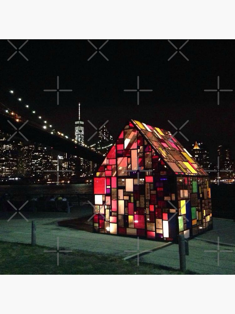 Stained Glass House- Brooklyn Bridge Park-Tom Fruin's Art Installation by Matlgirl