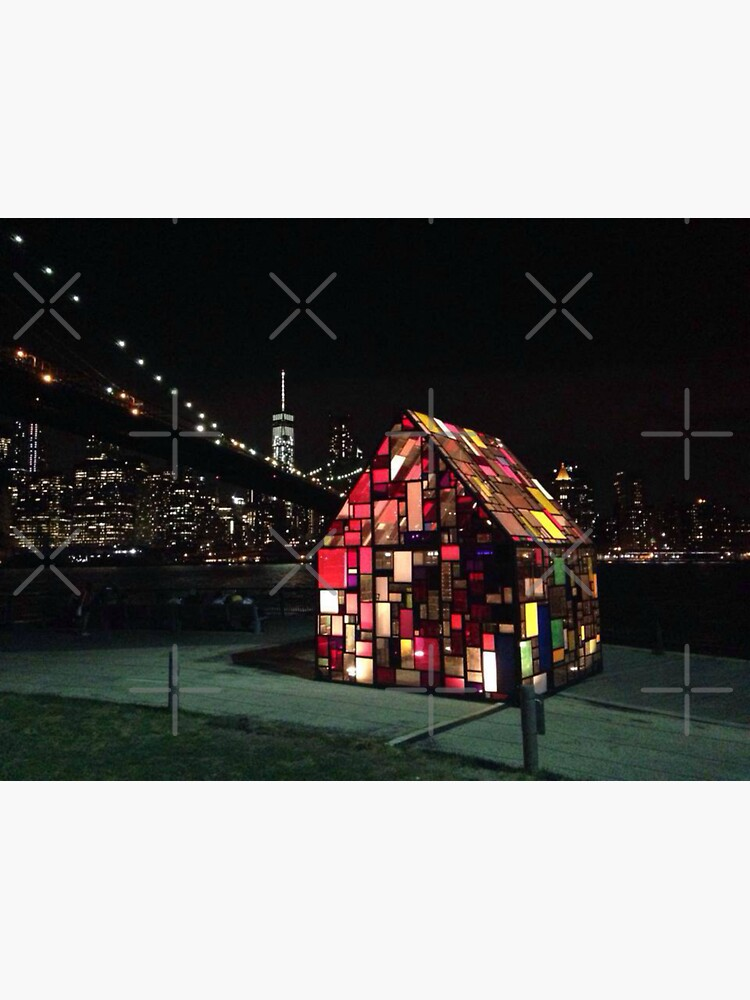 Stained Glass House- Brooklyn Bridge Park-Tom Fruin's Art Installation by Matlgirl