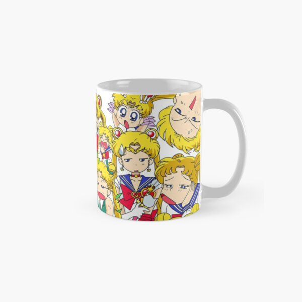 Usagi's faces Classic Mug