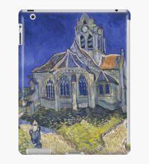 Vincent Van Gogh, The church in Auvers-sur-Oise iPad Case/Skin
