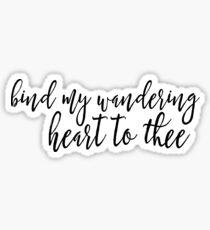 WANDERING HEART Sticker