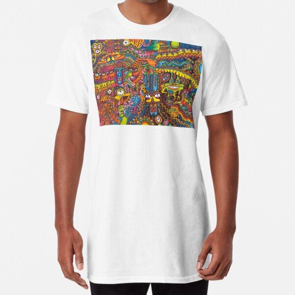 The Color Bandits  Long T-Shirt