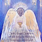 Angel of Love and Light II (Golden Wings) by nelinda
