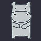 Hippo by whatsandramakes